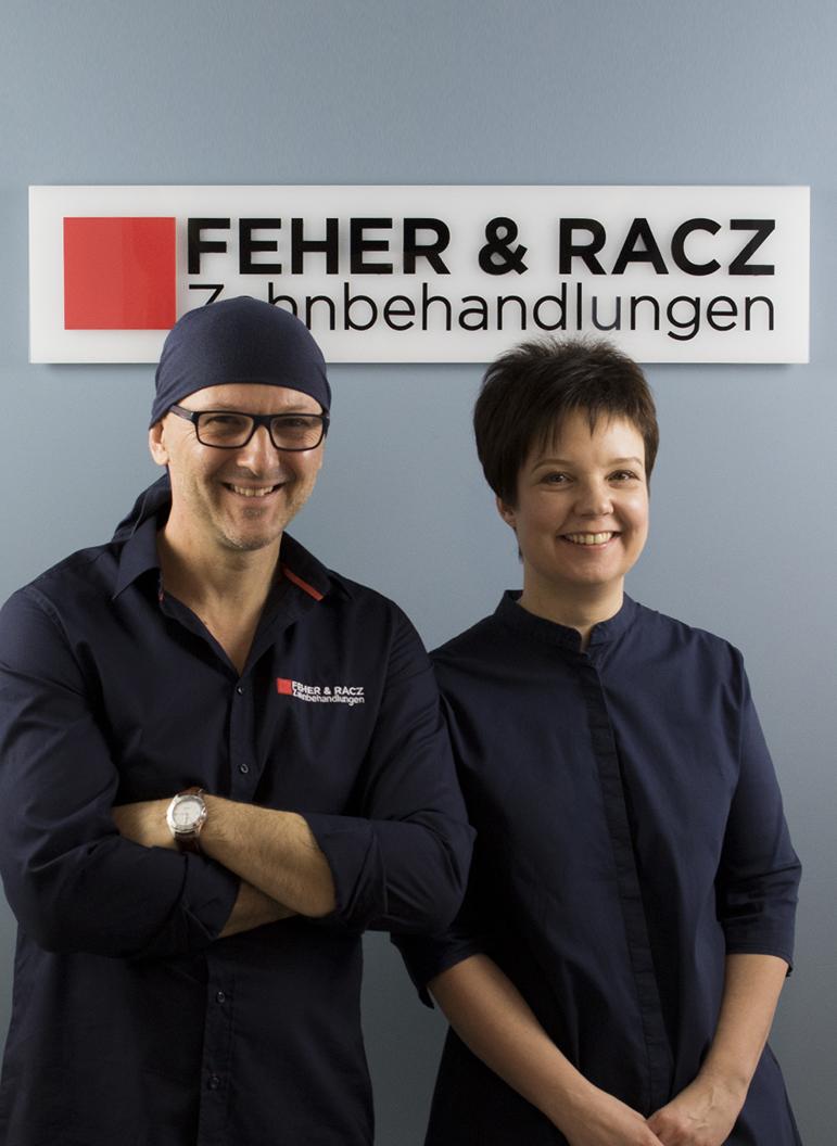 Dr. Bernadett Racz und Dr. Peter Feher