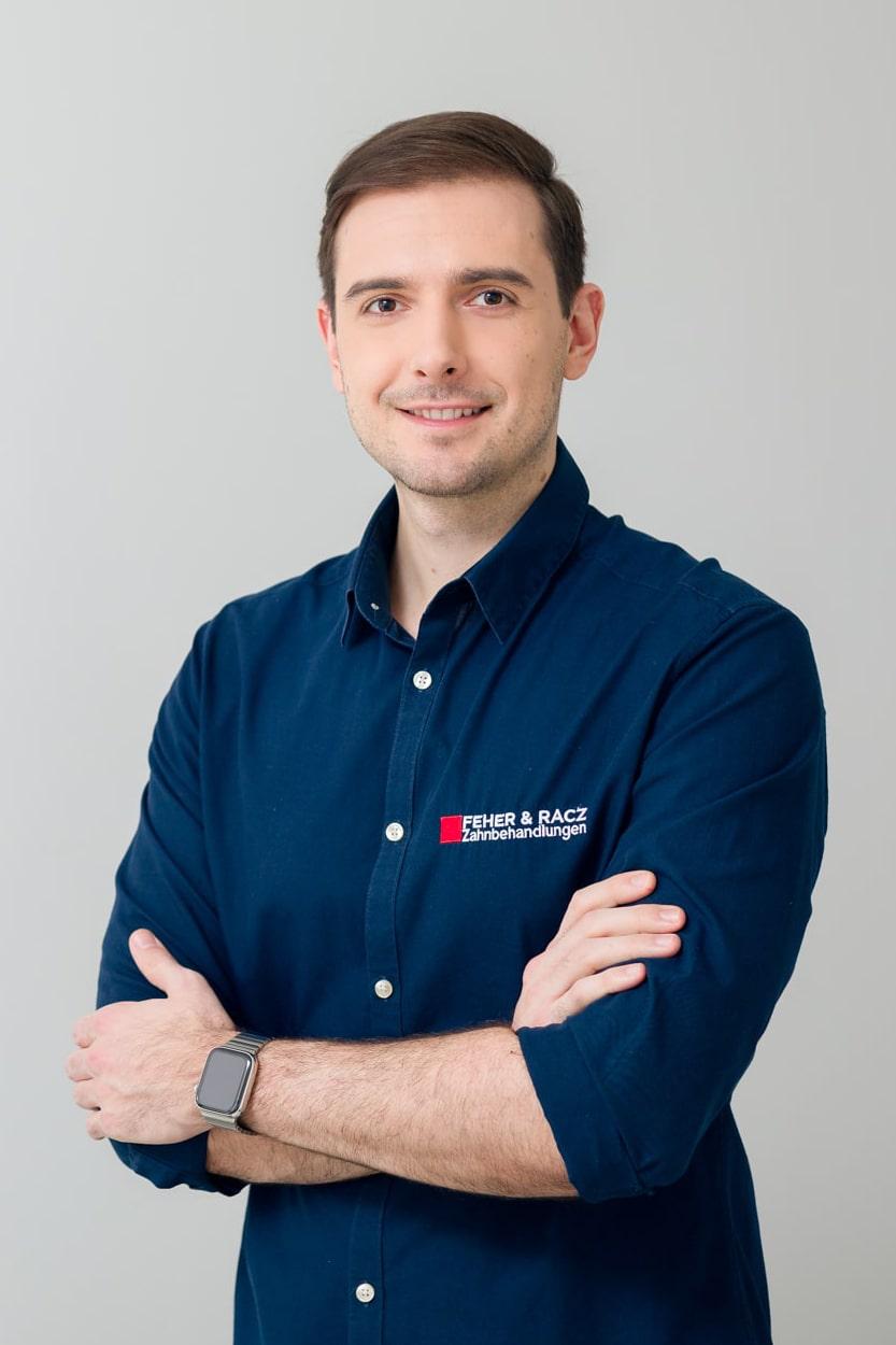 Porträt von Dr. Balazs Feher