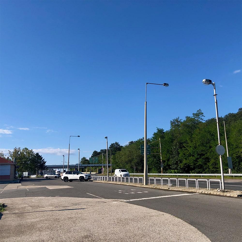 Grenze zwischen Österreich und Ungarn